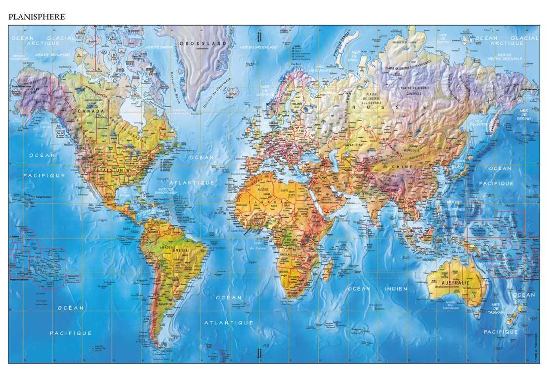 Zoom sur l'europe :